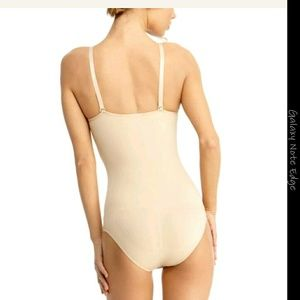 1fae3faf550 SlimMe by MeMoi Intimates   Sleepwear - SlimMe Classic Bodysuit Shaper -  Shapewear Nude ...